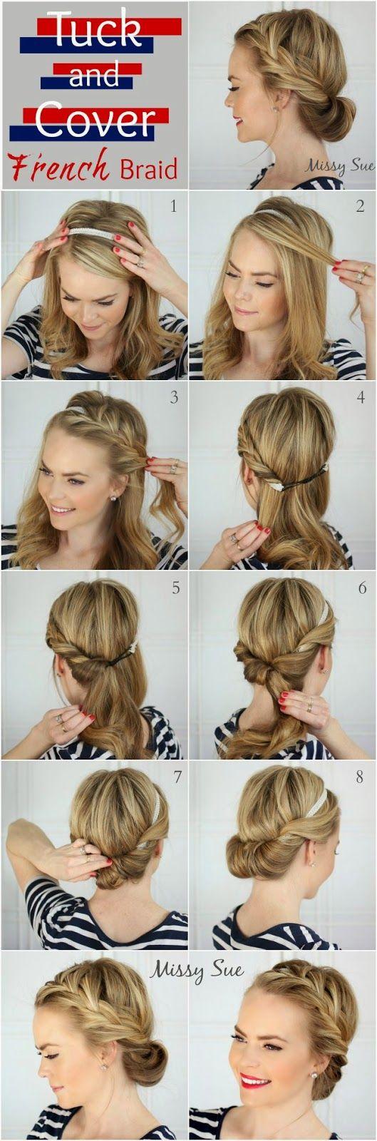 Повседневные прически на длинные волосы в домашних условиях фото пошагово в