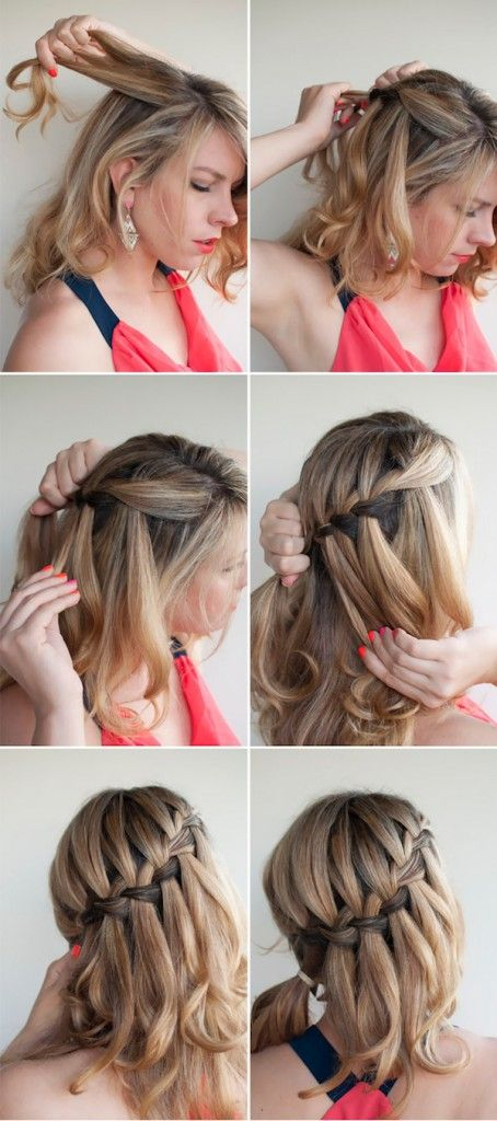 Причёски фото косички простые