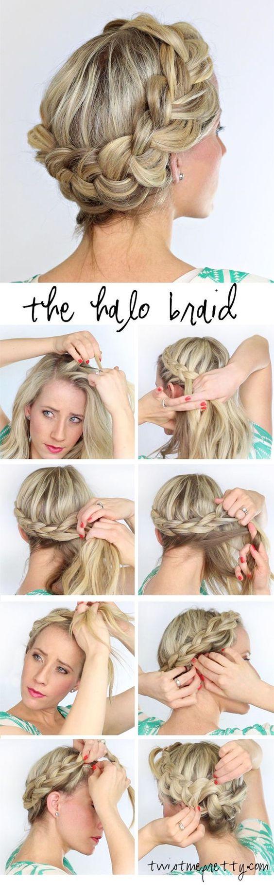 Косы на длинные волосы своими