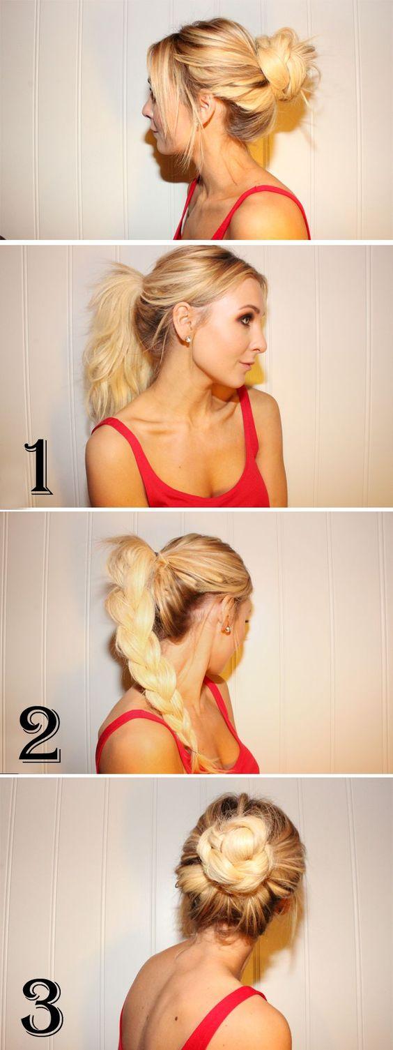 Домашние прически на средние волосы для ребенка