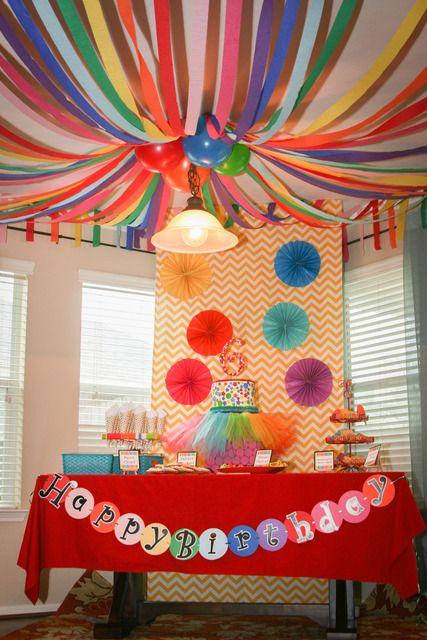 Чем украсить детский праздник своими руками