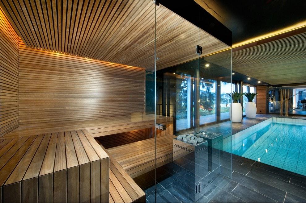 Фото дизайна для сауны комнаты
