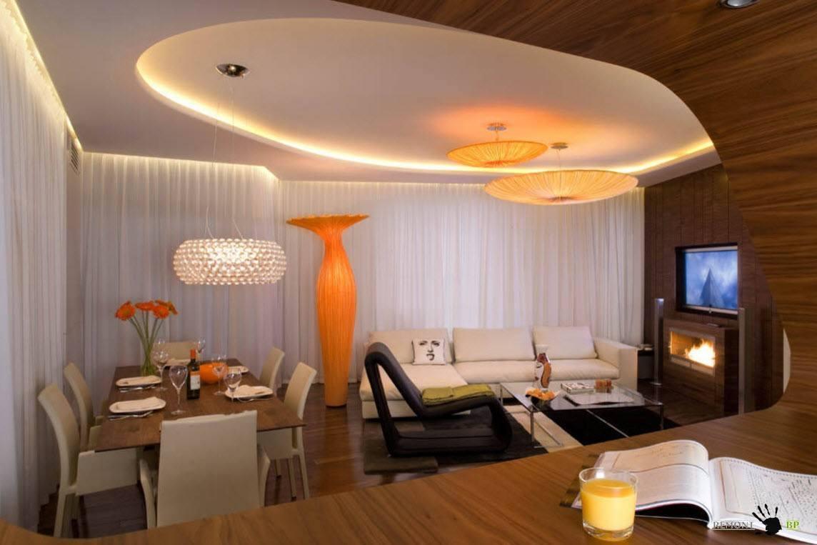 Лучшие дизайн потолков в квартирах