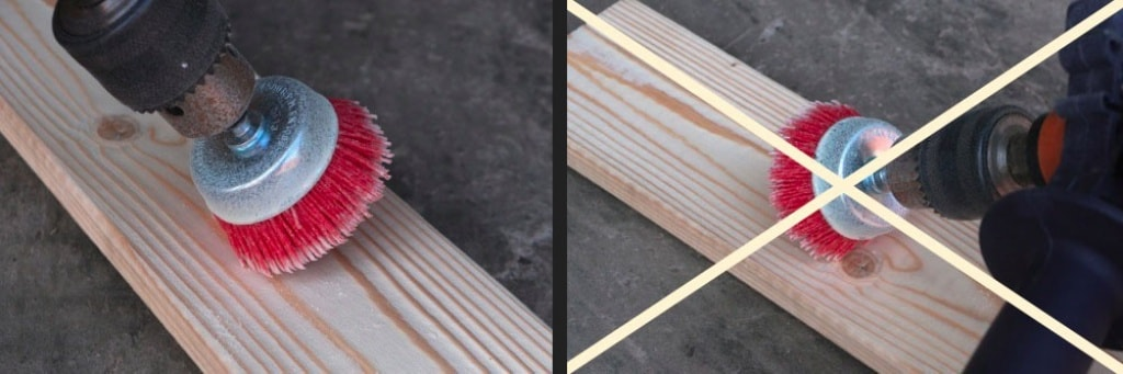 Инструмент для старения древесины своими руками 69