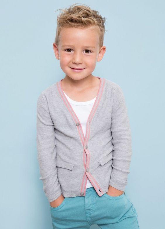 Модные стрижки для детей мальчики