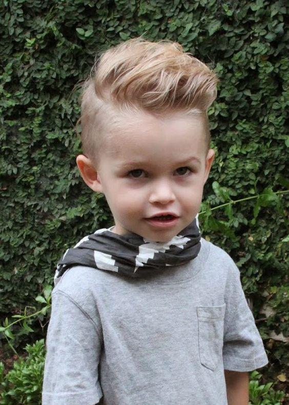 Фото прически для мальчика каре