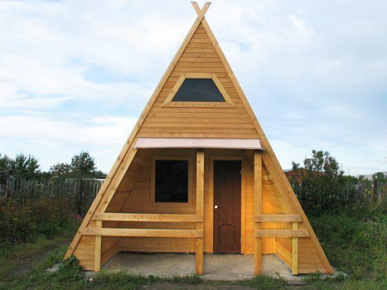 Как построить садовый домик недорого своими руками
