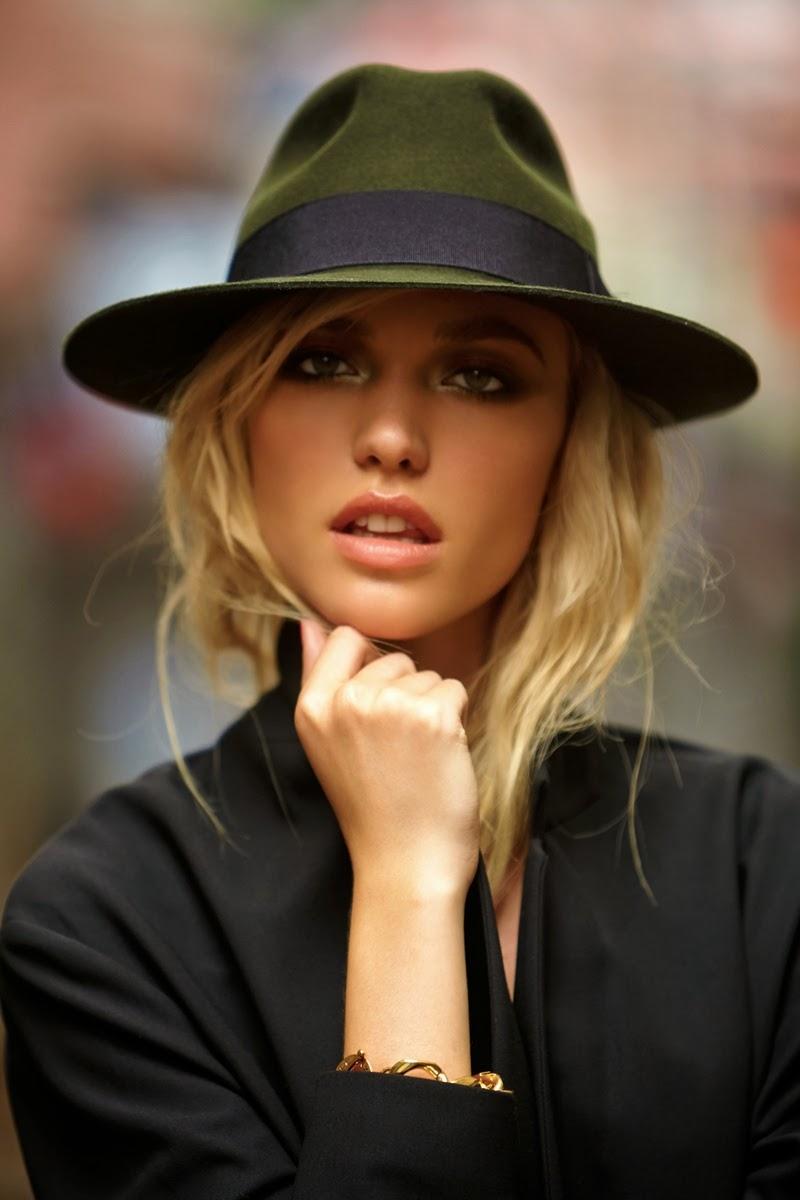 Идеи фото со шляпой