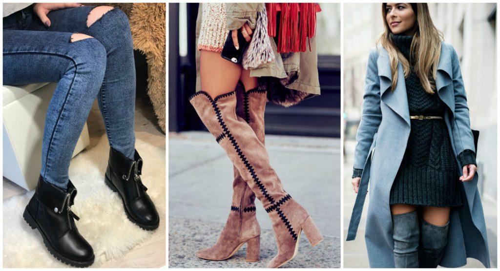 Фото сапоги зимние в этом году мода