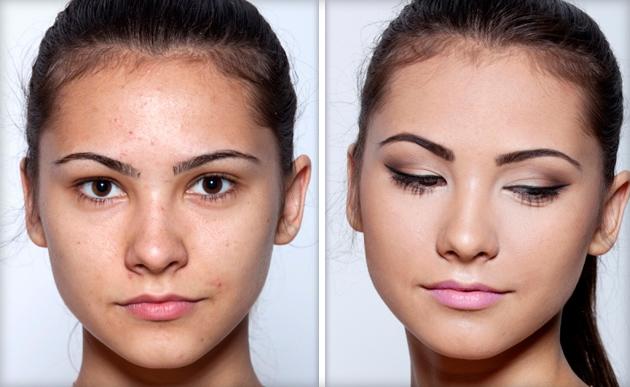 Лёгкий макияж в школу поэтапно