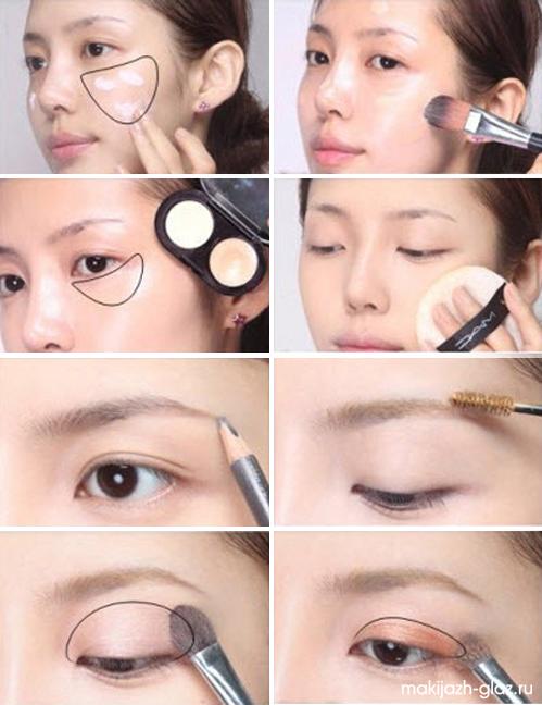 Как нанести макияж для школы