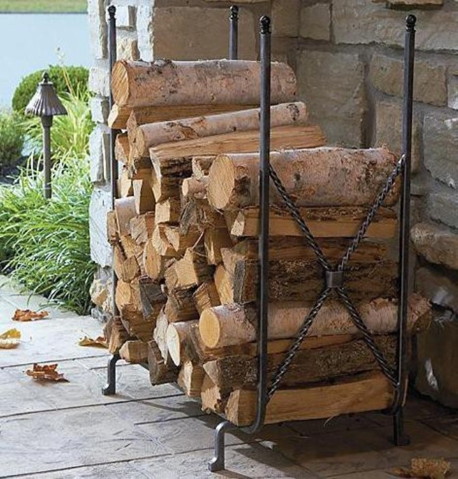 Поленница дров своими руками 353