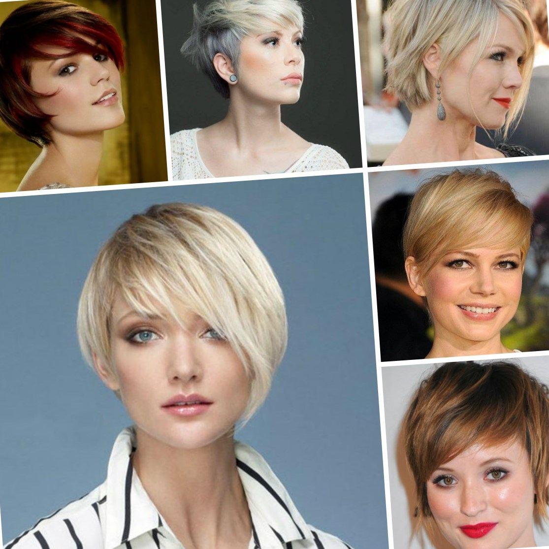 Какие стрижки в моде 2018 фото на короткие волосы