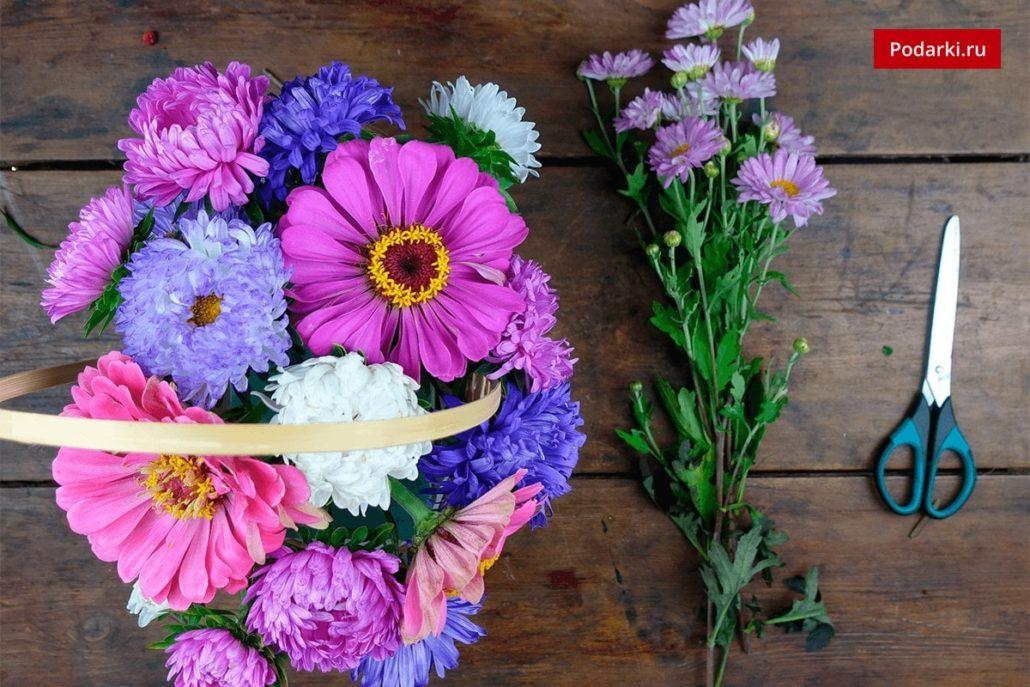 Цветы на 1 сентября один цветок оформить