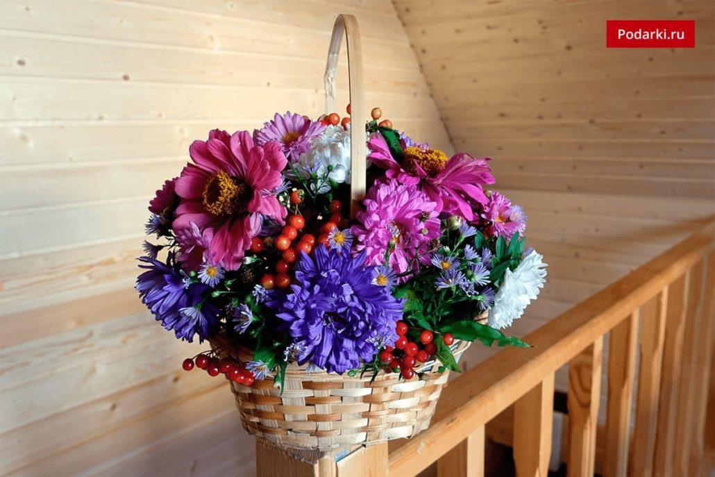 Букет из садовых цветов своими руками пошаговое