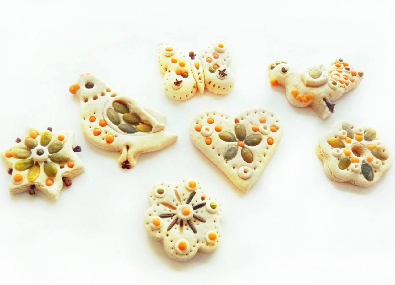 Соленое тесто поделки своими руками для детей 556