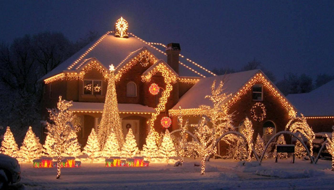 А как вы украшаете дом к новому году идеи