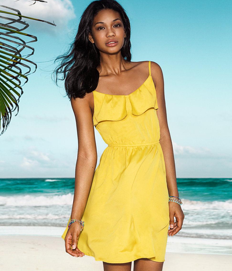 Красивое летнее платье своими руками
