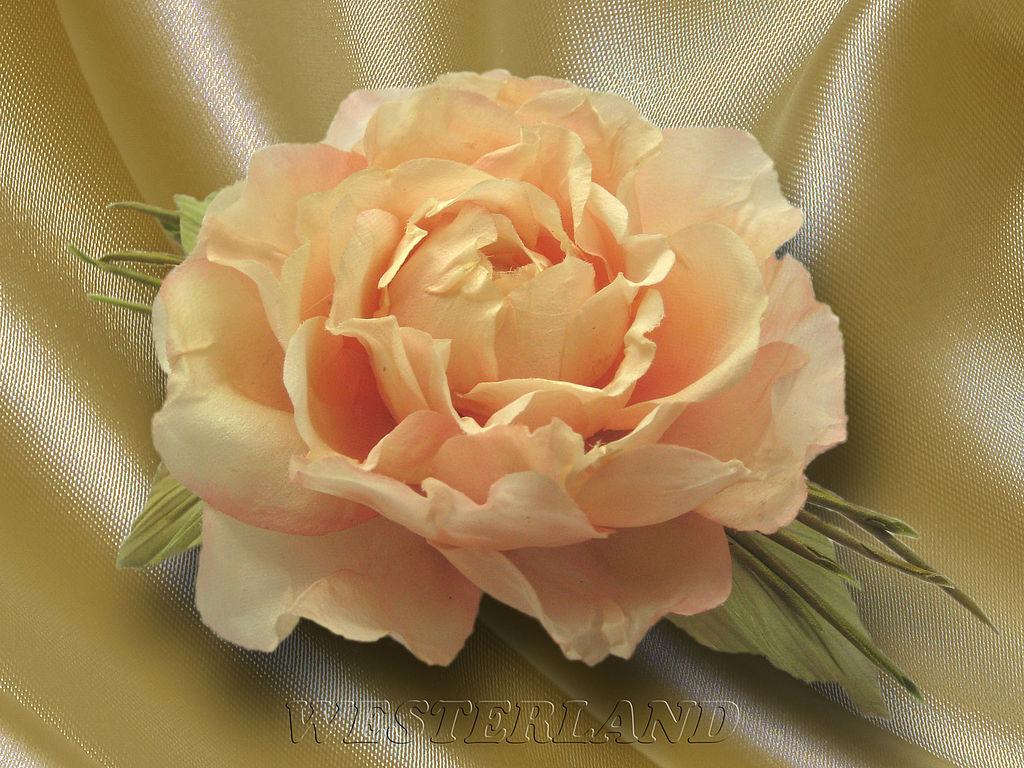 Как сделать из шелка розы своими руками