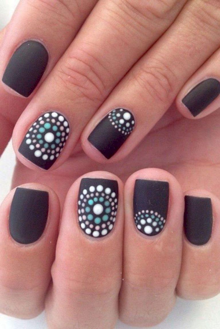 Простые маникюры на короткие ногти дизайн