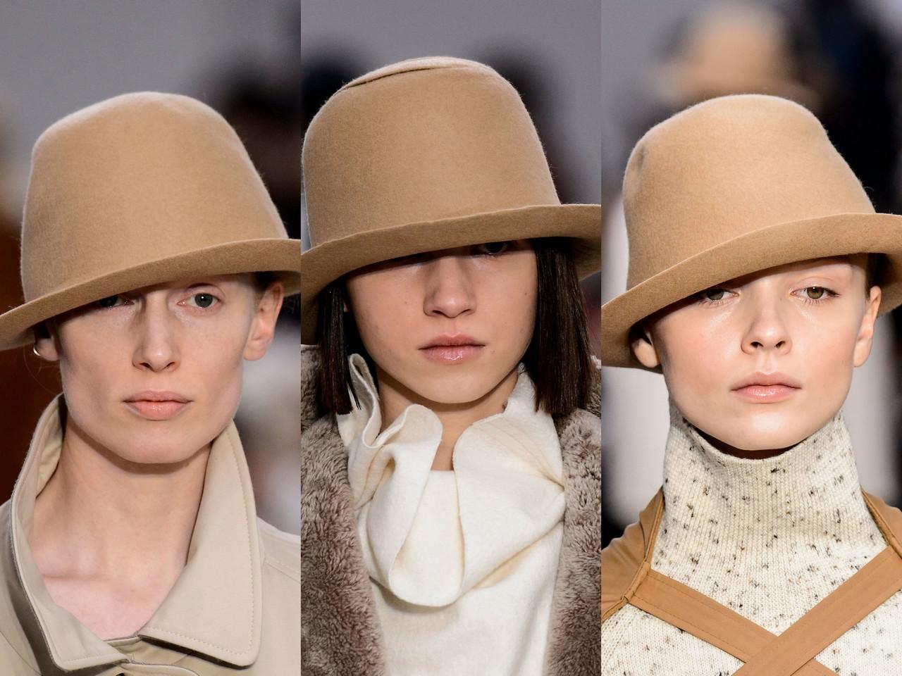 Мода головные уборы осень 2018 для женщин фото