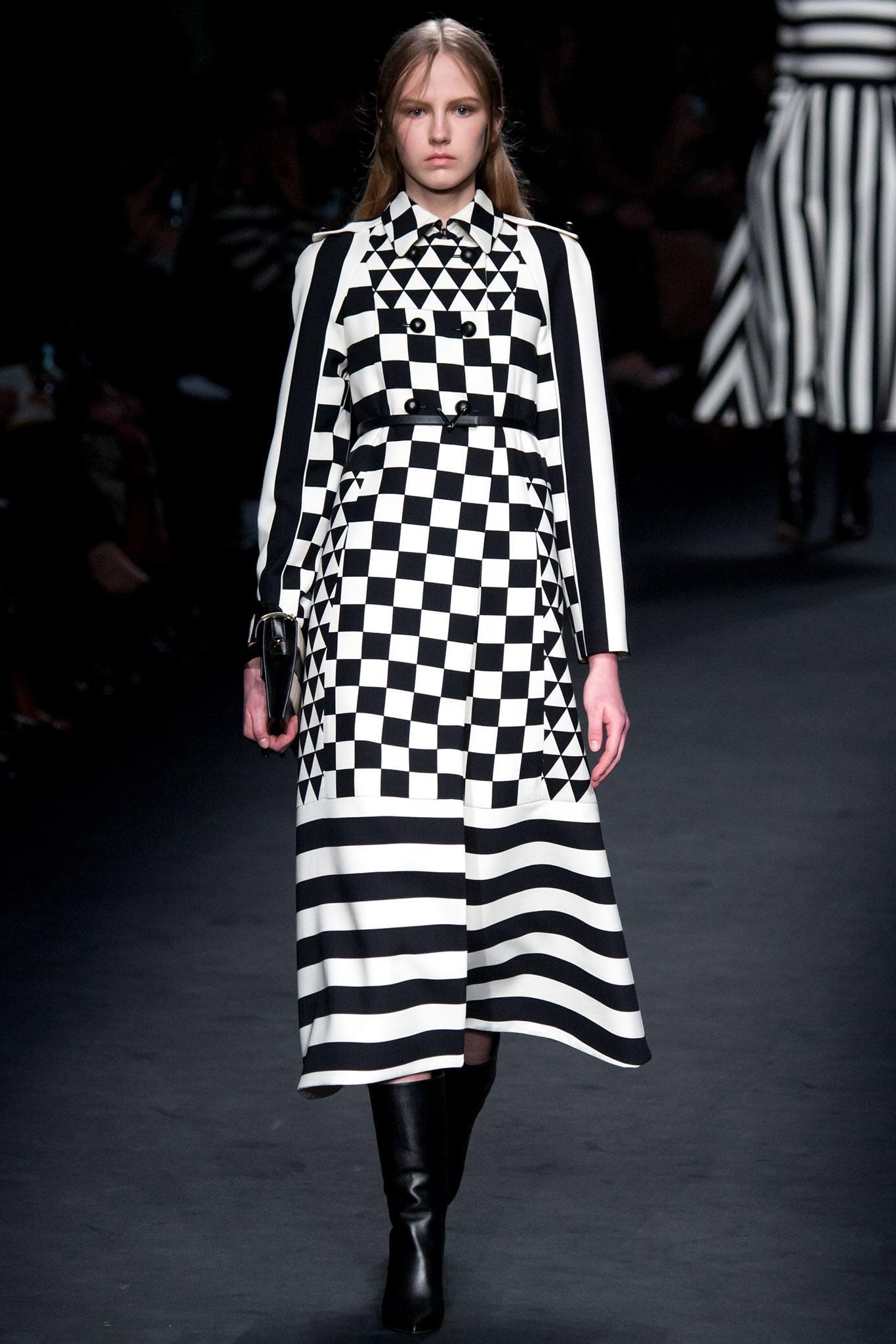 Black and white fashion trend 2018 6
