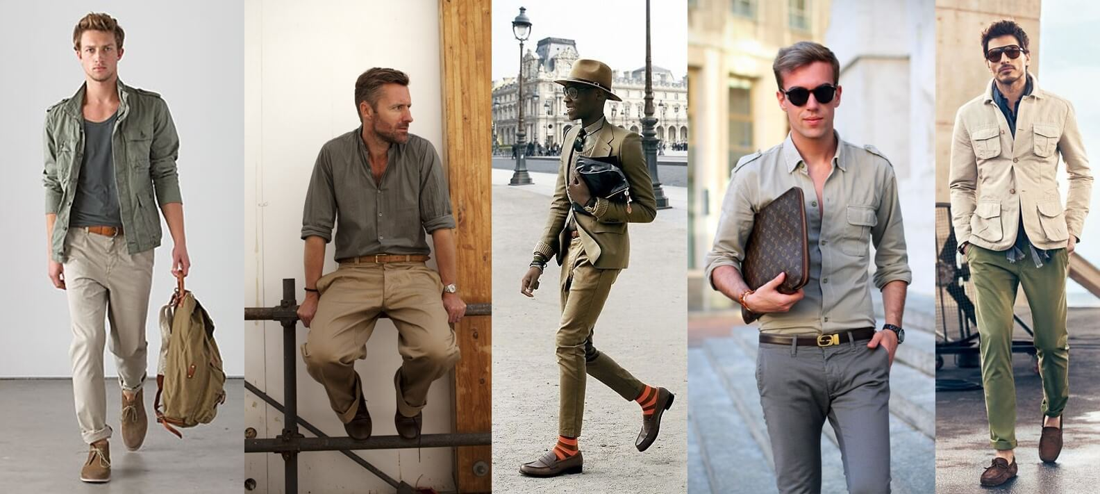 Colonial fashion for men