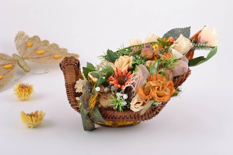 Икебана из цветов своими руками фото из 5