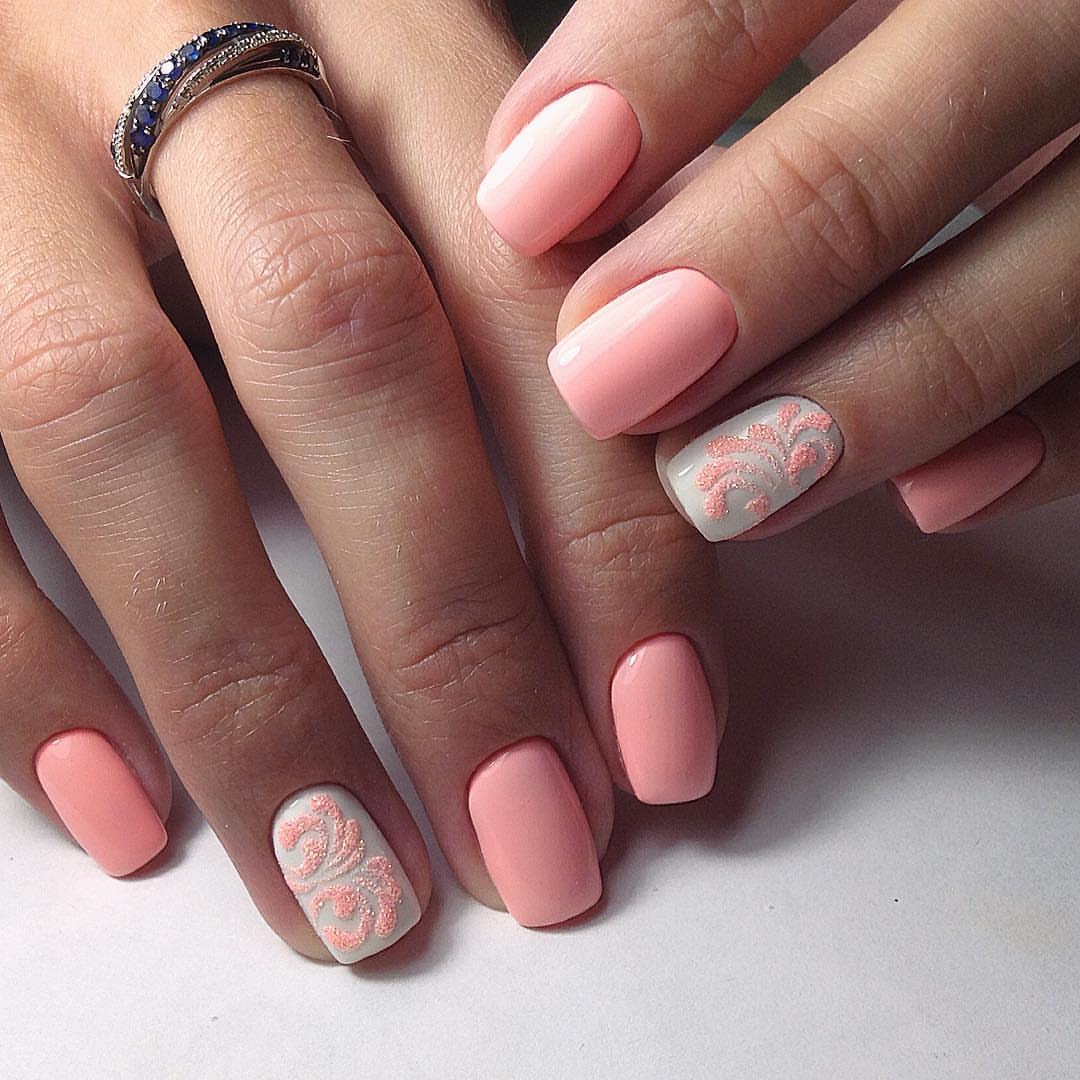 Идеи маникюра на короткие ногти гель лаком фото лето