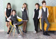 Серая школьная форма: благородные оттенки ученического дресс-кода в 2019 году