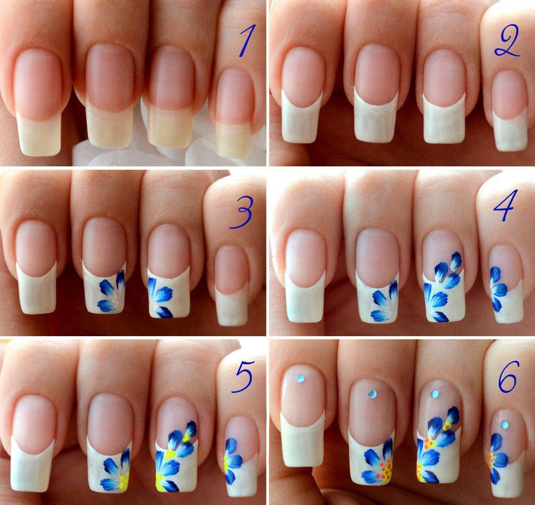 Рисунки на ногтях своими руками для новичков 28