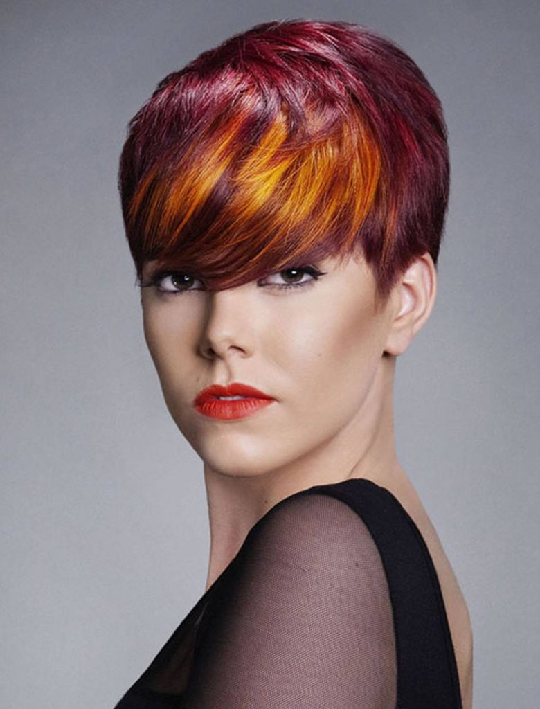 Окрашивание волос. 276 фотографий колорированных