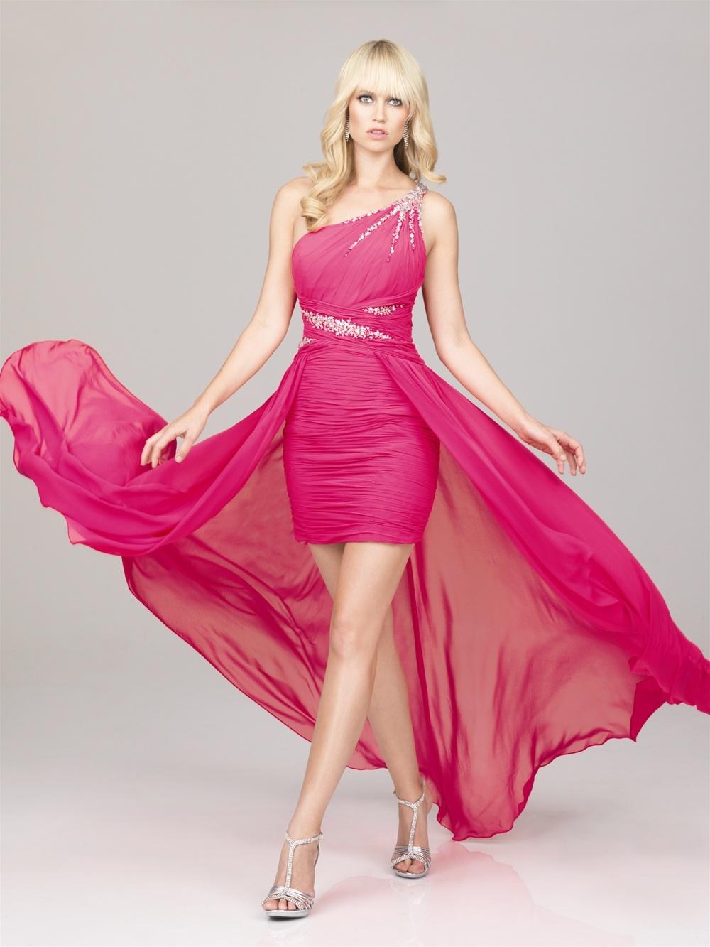 Pink matric farewell dresses
