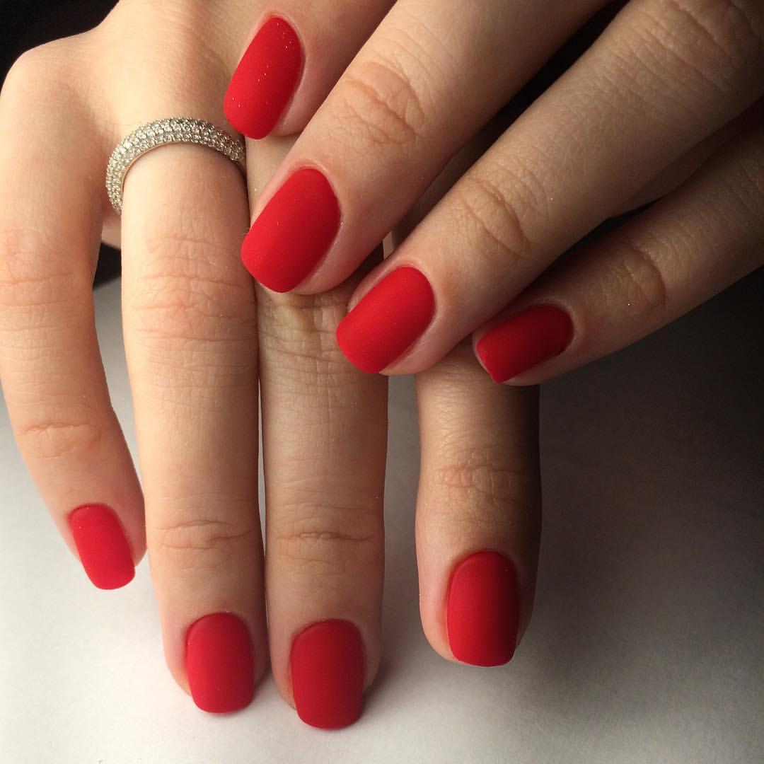 Красный Матовый Шеллак Фото