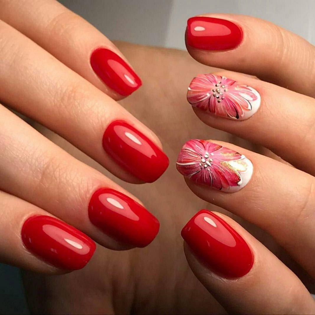 Ногти Овальные Дизайн Фото