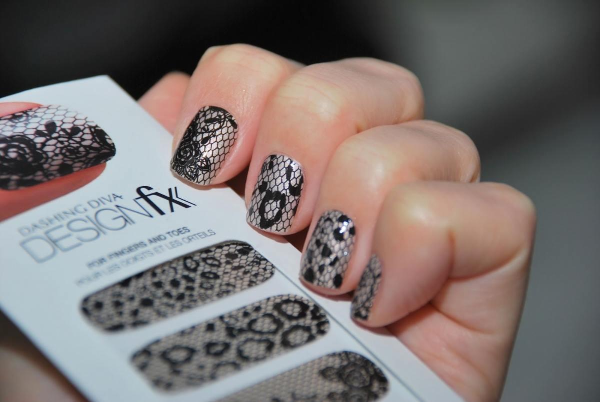 Дизайн ногтей с кружевом (фото кружевной дизайн) Маникюр с кружевной тканью