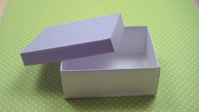 Как сделать квадратную коробку из картона 10