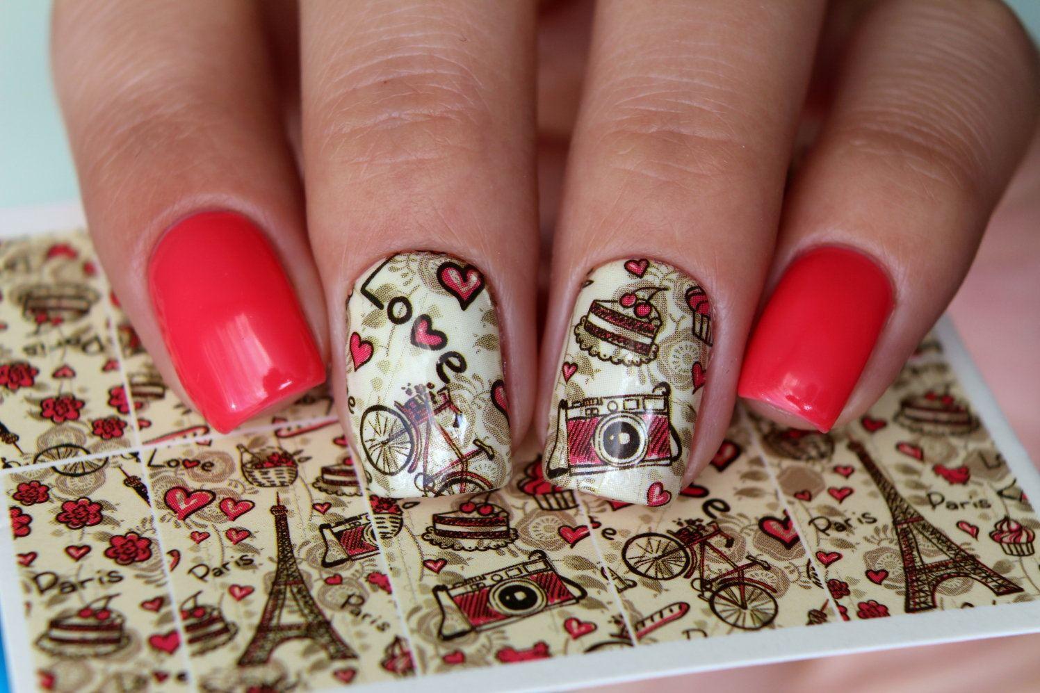Фото слайдов на ногти