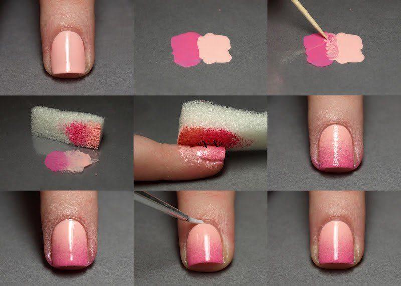 Красим свои ногти домашний маникюр