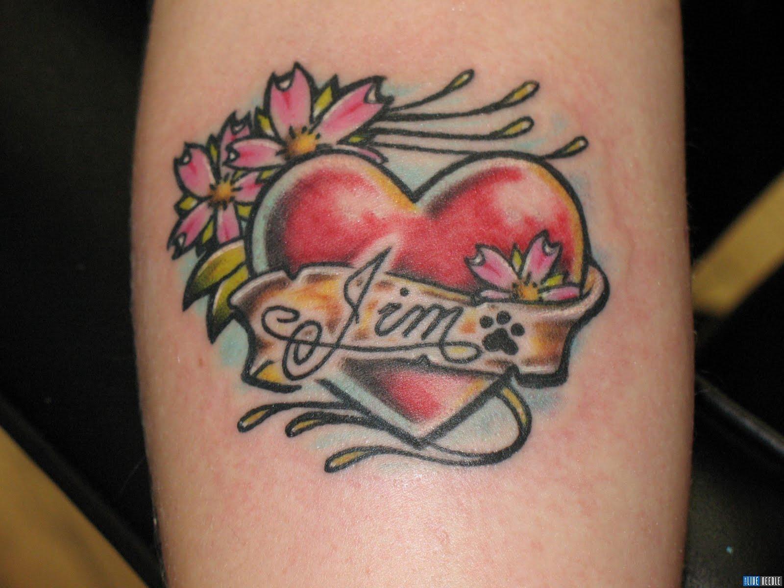 Татуировки сердец: значение