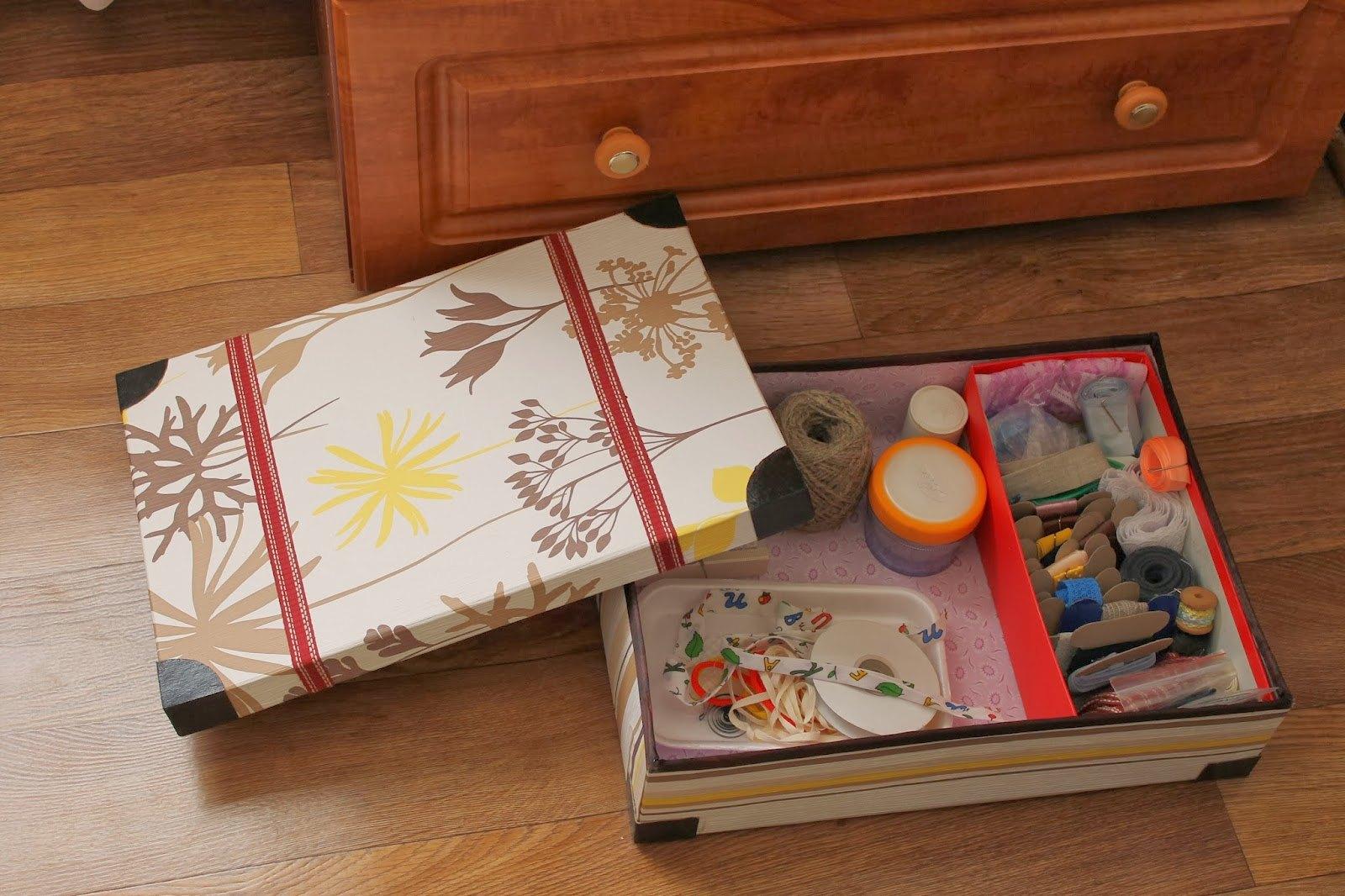 Что сделать из коробок от обуви Уютный дом 63