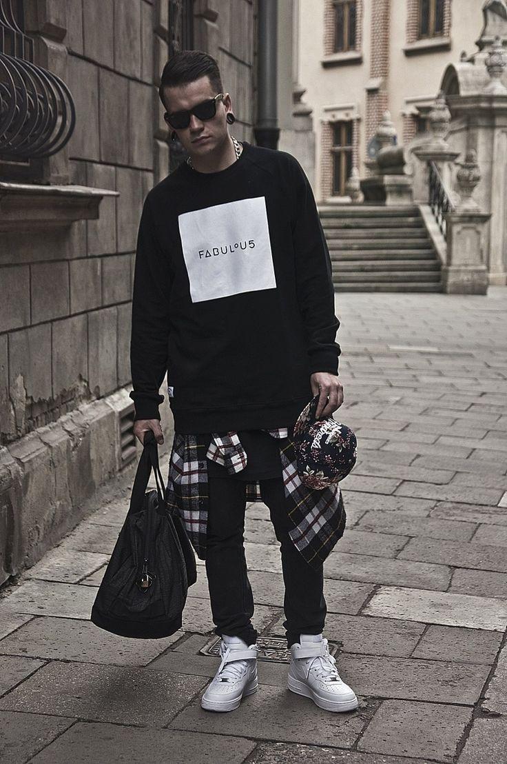 Black men clothing fashion 47