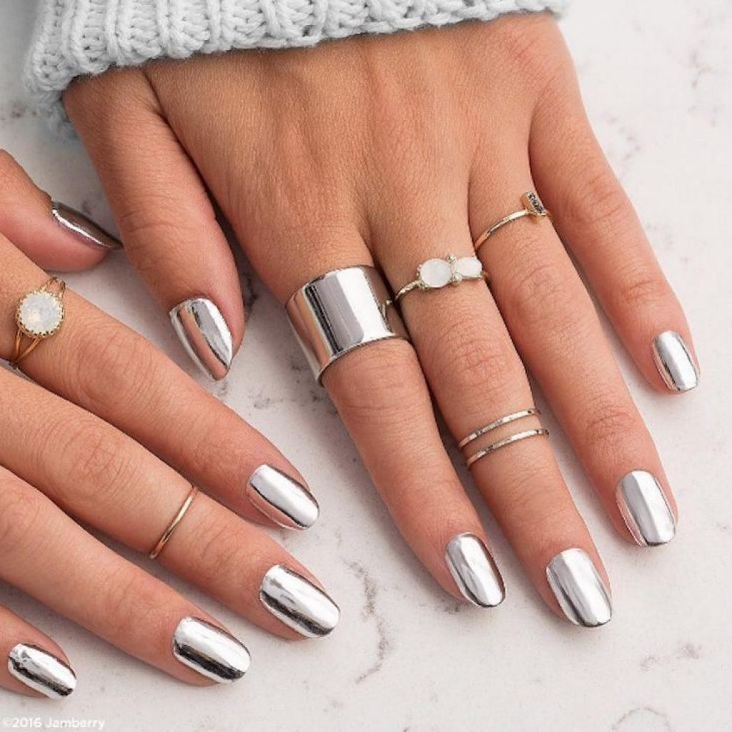 Фото ногтей шеллак с дизайном 2018
