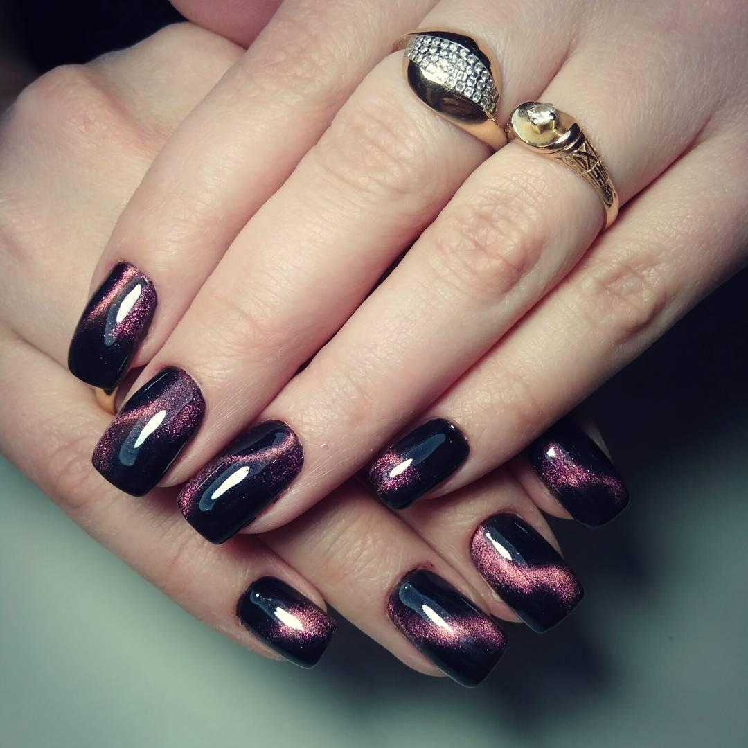 Ногти Бордо Дизайн Фото