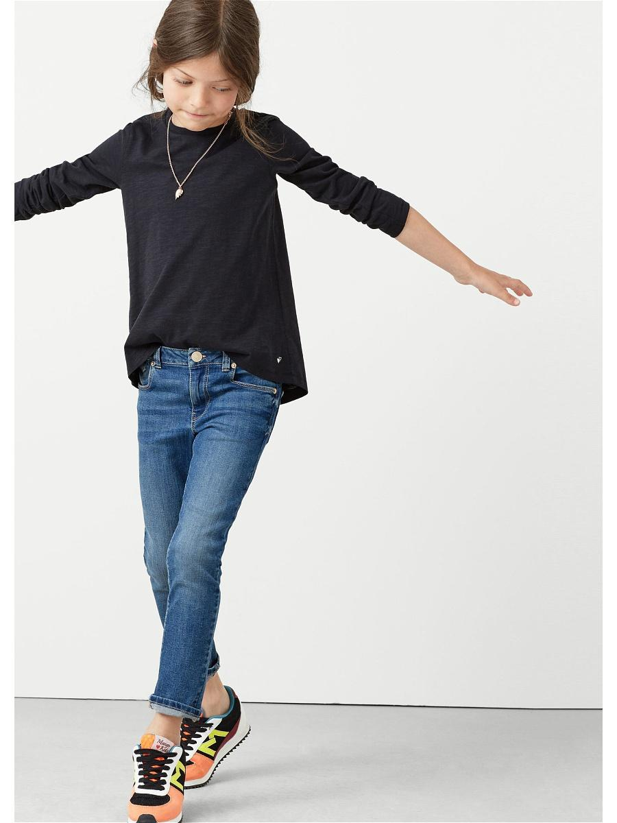 Детская джинсовая мода фото