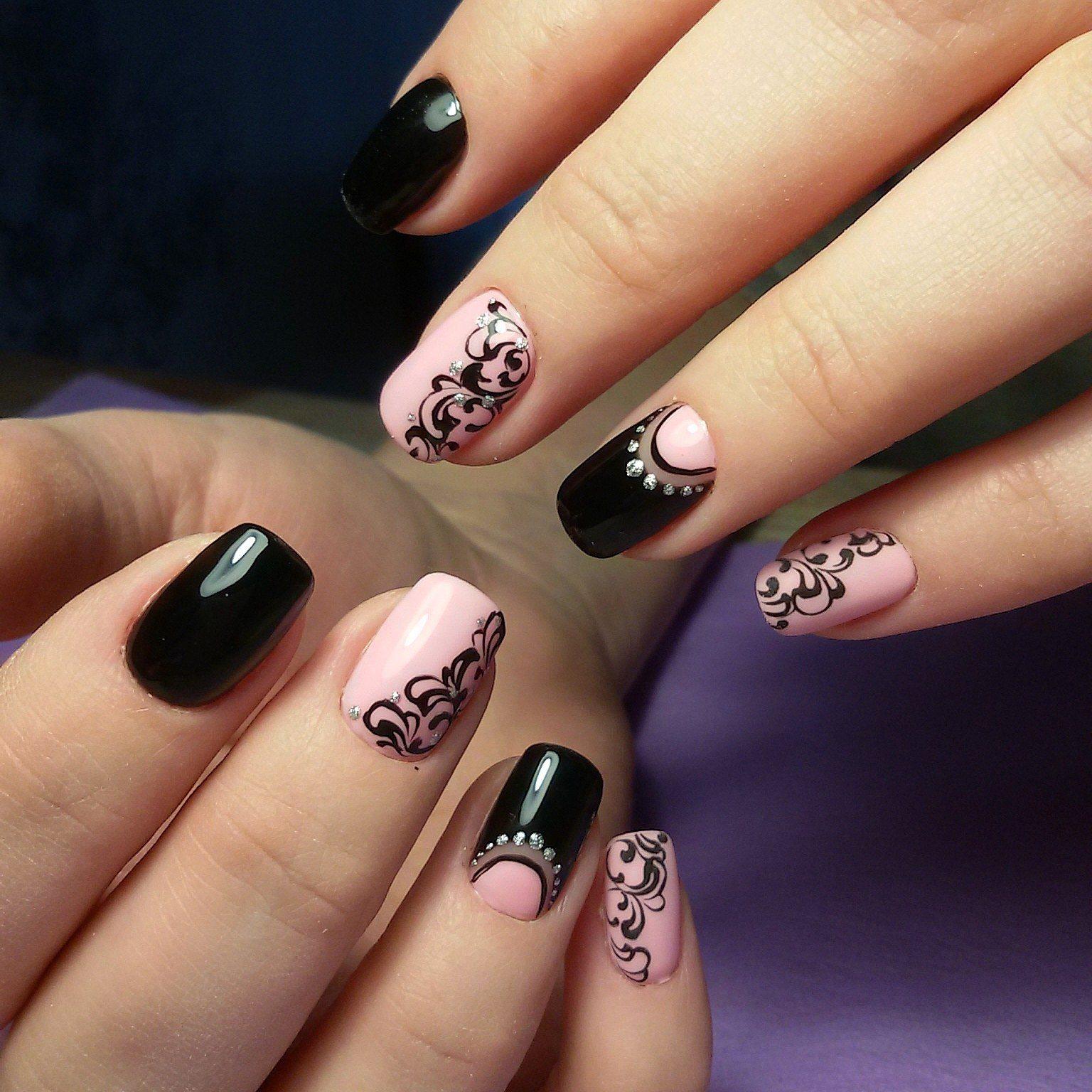Ногти Гель Фото Рисунок Цветы