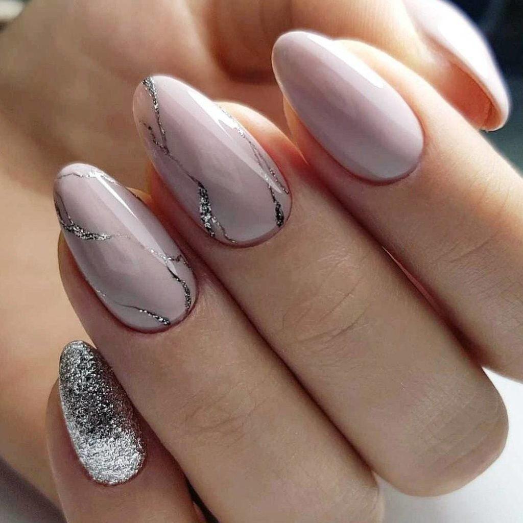 Шеллак Фото Дизайн 2019 На Овальные Ногти